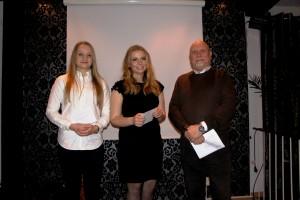 Stipendiater 2016 Malin Wiik och Fredrika Viberg
